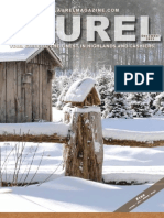 The December 2011 edition of The Laurel Magazine in Highlands NC and Cashiers NC