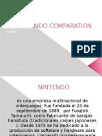 exposicion NINTENDO COMPARATION