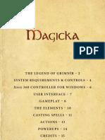 Magicka PC Manual