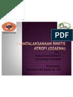Penatalaksanaan Rhinitis Atrofi (Ozaena)