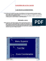 Curso Rápido de Auto CAD 2D