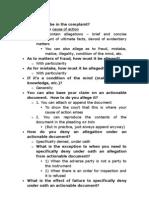 Pleadings - Bills TSS