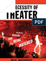 Woodruff - The Necessity of Theater