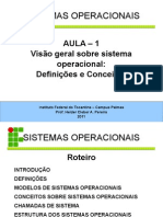 Introdução Sistema Operacional