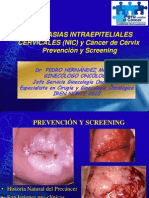NIC y Cáncer Prevención y Screening Público General PHM Jul 2010
