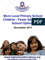 More Local Primary School Children Report Final Nov 2011