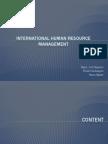 International Human Resource Management Whole
