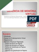 GERÊNCIA DE MEMÓRIA VIRTUAL