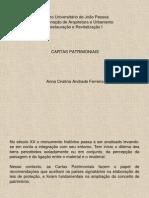 07 - Cartas Patrimoniais