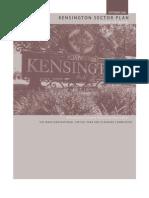 September 2008 Kensington Sector Plan Scope of Work Montgomery