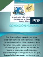 CONDICIÓN HUMANA