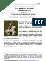Los Reformadores protestantes y la Virgen María