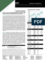 Australian Dollar Outlook11/30/2011