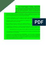 Copy of Forex Trade Progress