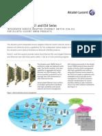 Alcatel-Lucent ISA ES14 Series Datasheet