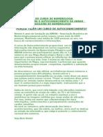APOSTILA DO CURSO DE NUMEROLOGIA PITAGÓRICA PARA O AUTOCONHECIMENTO DA ABRAN - ASSOCIAÇÃO BRASILEIRA DE NUMEROLOGIA