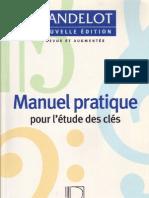 Dandelot - [Learning Book] Manuel pratique pour l'étude des clefs