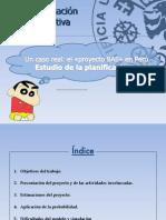 PERT - Ejemplo proyecto BAS
