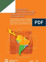 Situación de la Educación en latinoamerica y el caribe