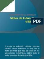 Motor de inducción trifásica