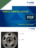 Wheel Nomenclature