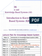 L1 KBS CSCI3406 Introduction to KBS L11
