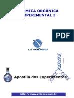 Apostila de Química Orgânica I Experimental