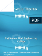 Lan Cable Tester (Presentation)