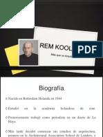Reem Koolhaas/ckz