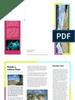 folleto lugar turistico