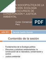 Ecología política y conservación_G. Castillo
