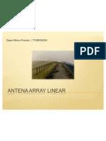 Antena Array Linier