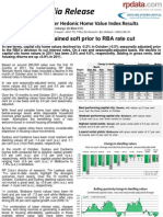 Rpdata Rismark Home Value Index Nov30 2011