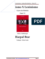 Parte VI - Trotskismo x Leninismo