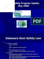 Delaware Dam Safety Program Update May 2008