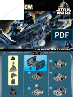 LEGO Tie Fighter & Y-Wing Instruction Manual Set 7150