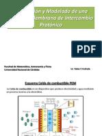 Descripción y Modelado de una Celda de Membrana