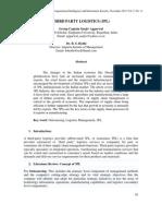 Paper-8 Third Party Logistics (3pl)