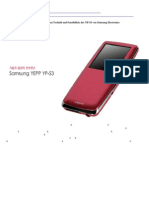 [Vorschau] SAMSUNG YP-S3 MP3 PLAYER