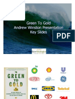 Green to Gold an Drew Winston