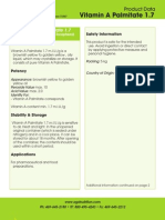 A 1.7 Palmitate PDS