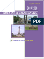 Kota Jambi Dalam Angka 2009