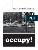the Occupy Harvard Crimson - 2
