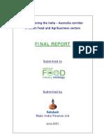 Report of Rabobank Australia India