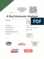 Harmonic Analyzer