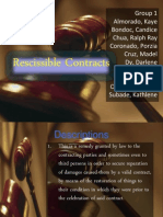 Rescissible Contracts 2