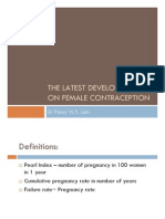 Female Contraception-Latest Development-Pansy Lam