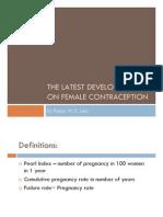 Female Contraception-Latest Development-Pansy Lam