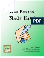 Bio Poems Made Easy