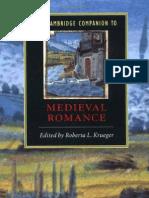 The Cambridge Companion to Medieval Romance (Cambridge Companions to Literature)